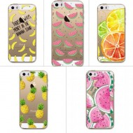 Coque iPhone 5 5S SE Fruits exotiques