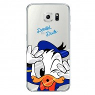 Coque transparente Donald Duck Galaxy s7 tpu souple