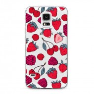 Coque Fraise Cerise Framboise Fruits rouges Samsung Galaxy s5