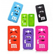 Coque M&M'S 3D Galaxy grand prime