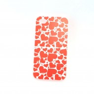 Coque de Protection Coeur Rouge Love iPhone 4, 4s