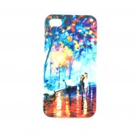 Coque de protection Style Peinture Art Colorfull iPhone 4, 4s