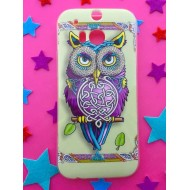 Coque hibou tribal HTC one m8